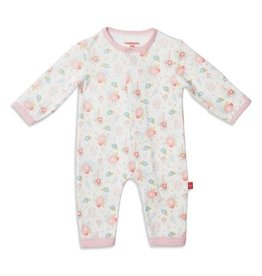 Magnetic Me Nottingham Floral Organic Cotton Magnetic Coverall 18-24M