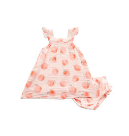 Angel Dear Sundress (Bloomer baby sizes) - Peachy
