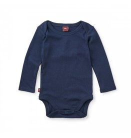 Tea Collection Basically Baby Bodysuit - Heritage Blue 9-12M