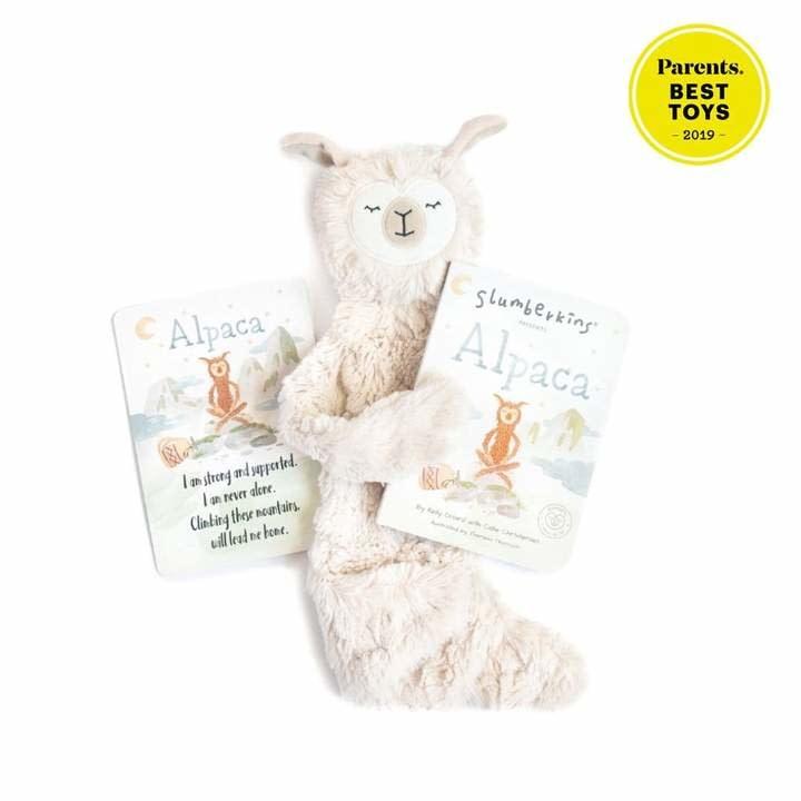 Slumberkins Alpaca Snuggler Bundle