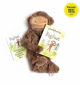 Slumberkins Bigfoot Snuggler Bundle