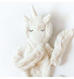 Slumberkins Ivory Unicorn Snuggler Bundle