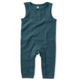 Tea Collection A Crinkle in Time Romper - Indian Teal