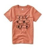 Tea Collection Catching Air Skater Tee - Rosestain