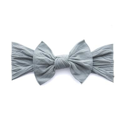 Baby Bling Bows Knot - Grey
