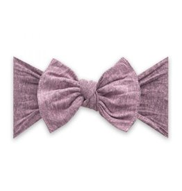 Baby Bling Bows Patterned Knot - Heathered Blossom