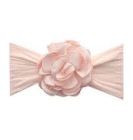 Baby Bling Bows Silk Ruffle Flower Headband: Petal