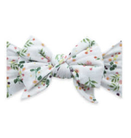 Baby Bling Bows Printed Dang Enormous Bow: Baby's Breath