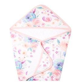 Copper Pearl Knit Hooded Towel - Bloom