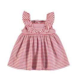 Mayoral Mayoral Knit Dress Baby Girl - Watermelon stripe
