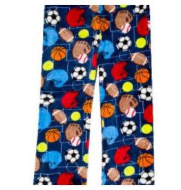Candy Pink Boys Lounge Pant Ball Sports 4/5T