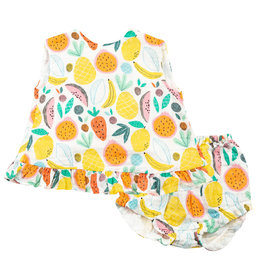 Angel Dear Ruffle Top and Bloomer - Tropical Fruit