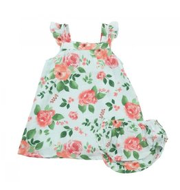Angel Dear Sundress and Diaper Cover - Rose Garden