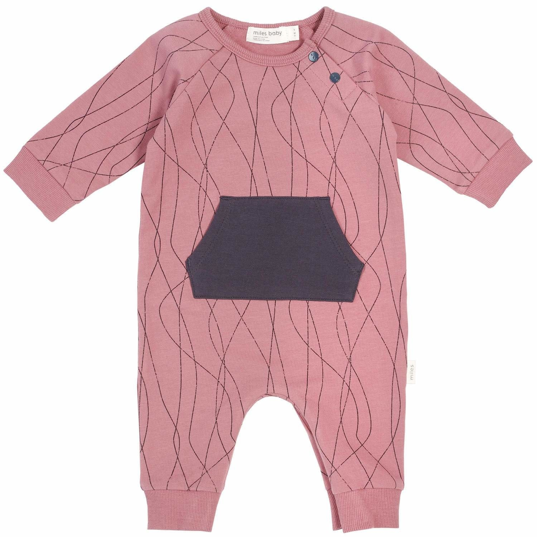 Miles Baby Baby Playsuit Knit - Alpine Club Girl 6M