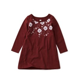 Tea Collection Baby Girl 6-9m Floral Baby Dress - Boysenberry  6-9M