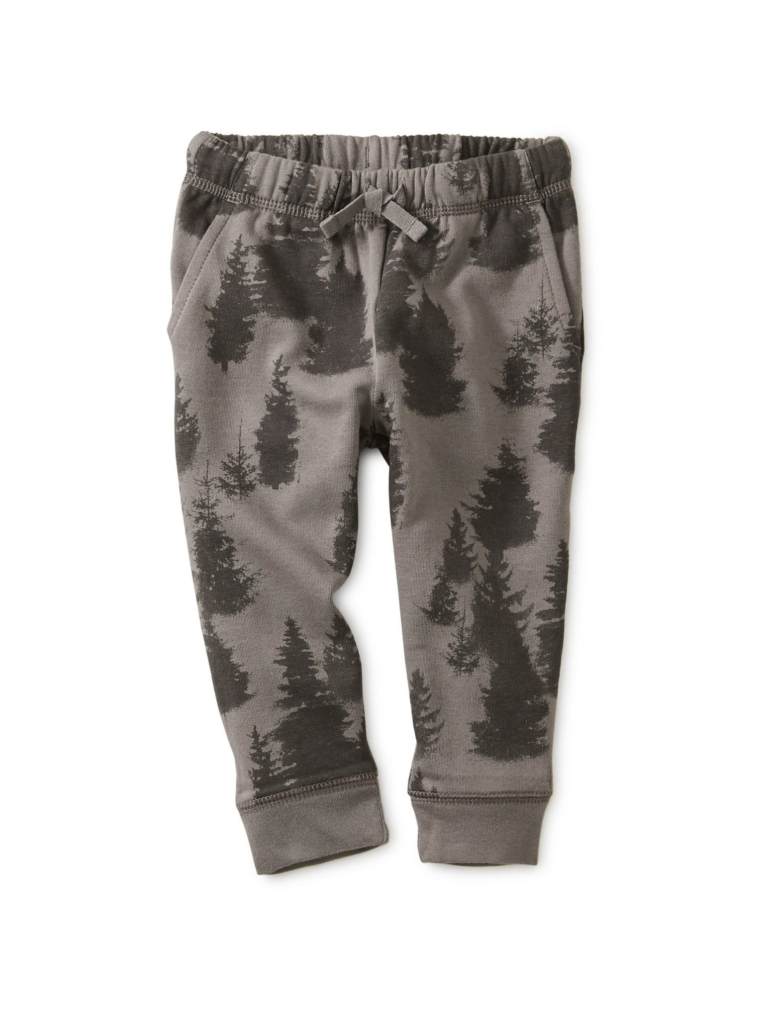 Tea Collection Forest Fleece Baby Joggers - Forest  6-9M