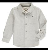 Me + Henry Grey Stripe Stretch Jersey Shirt 4-5Y