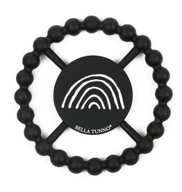 Bella Tunno Black Rainbow Teether