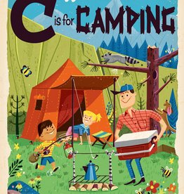Gibbs Smith C is for Camping (in store)