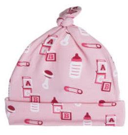Kickee Pants Print Knot Hat - Lotus Nursery 3-12m