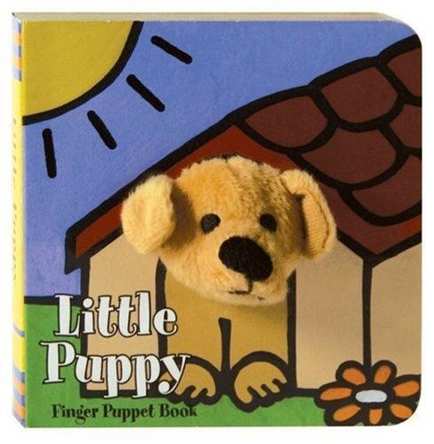 Chronicle Books Finger Puppet Book: littlePuppy