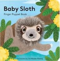 Chronicle Books Finger Puppet Book: Baby Sloth