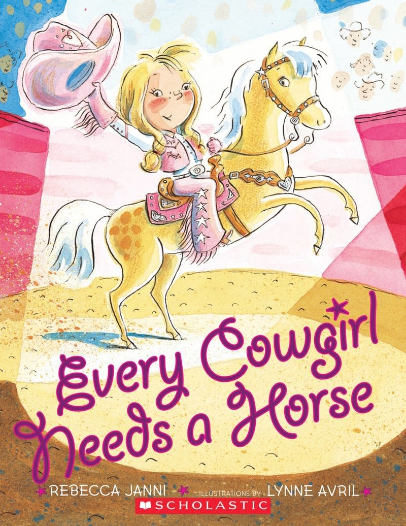 Penguin Random House (here) Every Cowgirl Needs a Horse