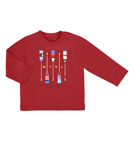 Mayoral Long Sleeved T-shirt Baby Boy - Red Oars