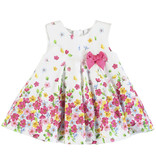 Mayoral Mayoral Dress Baby Girl - Poplin Strawberry