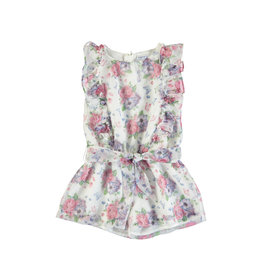 Mayoral Mayoral Plumenti Jumpsuit - Mallow Flower