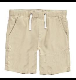 Me + Henry Woven Bermuda Shorts, Stone