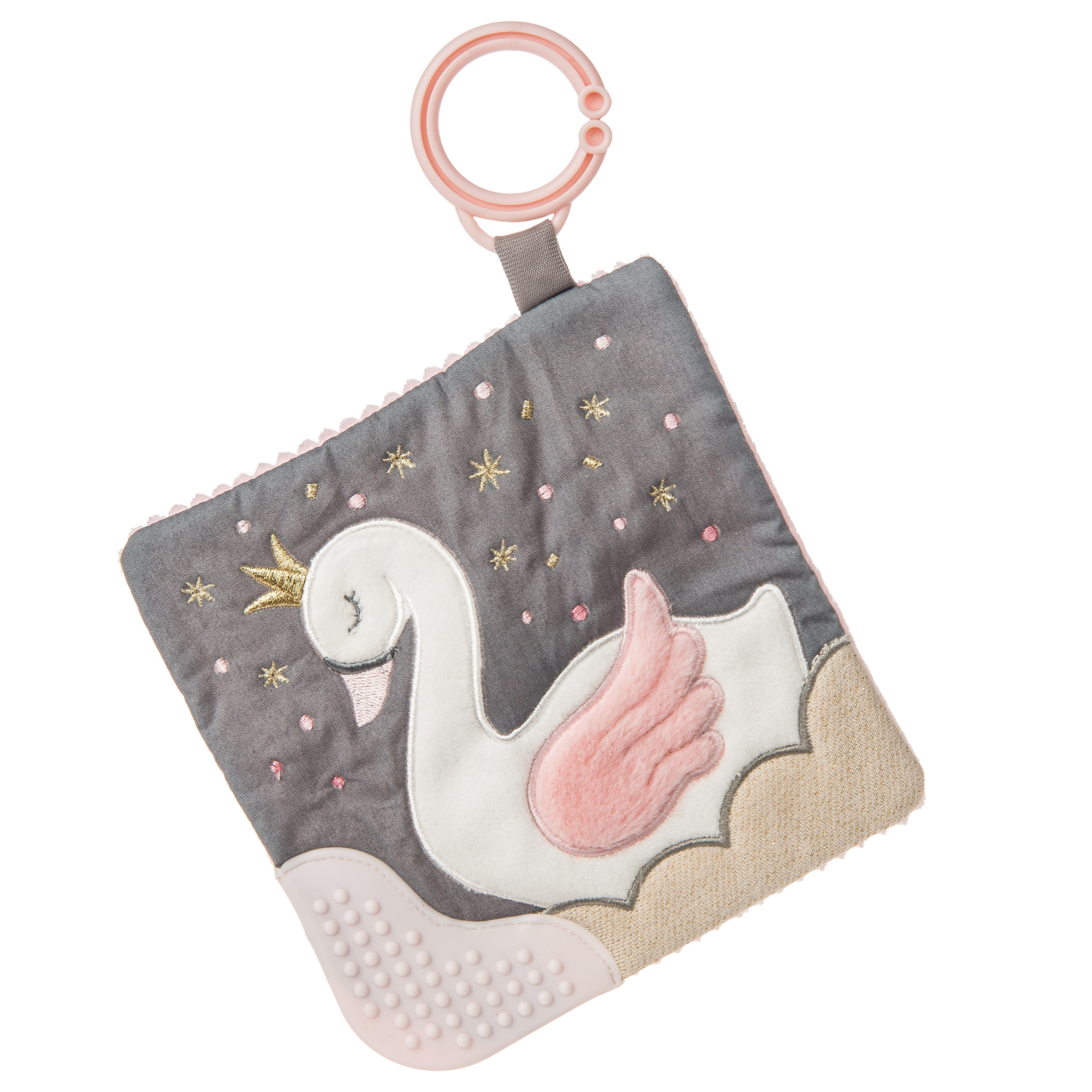 Mary Meyer Crinkle Teether, Itzy Glitzy Swan