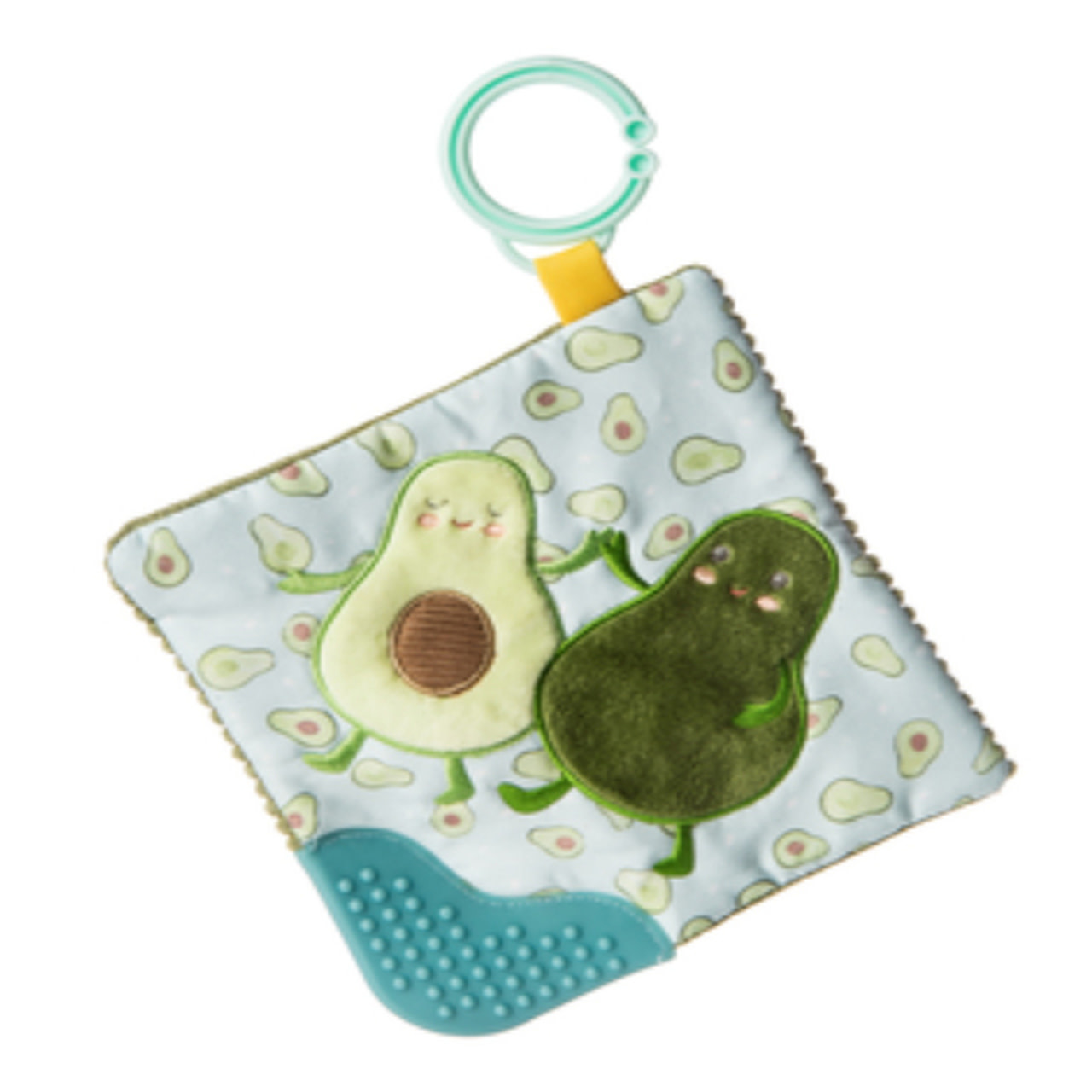 Mary Meyer Crinkle Teether, Yummy Avocado
