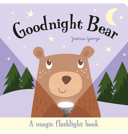 House of Marbles Goodnight Bear Magic Flashlight Book