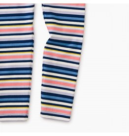 Tea Collection Baby Leggings - Nightfall with Stripes
