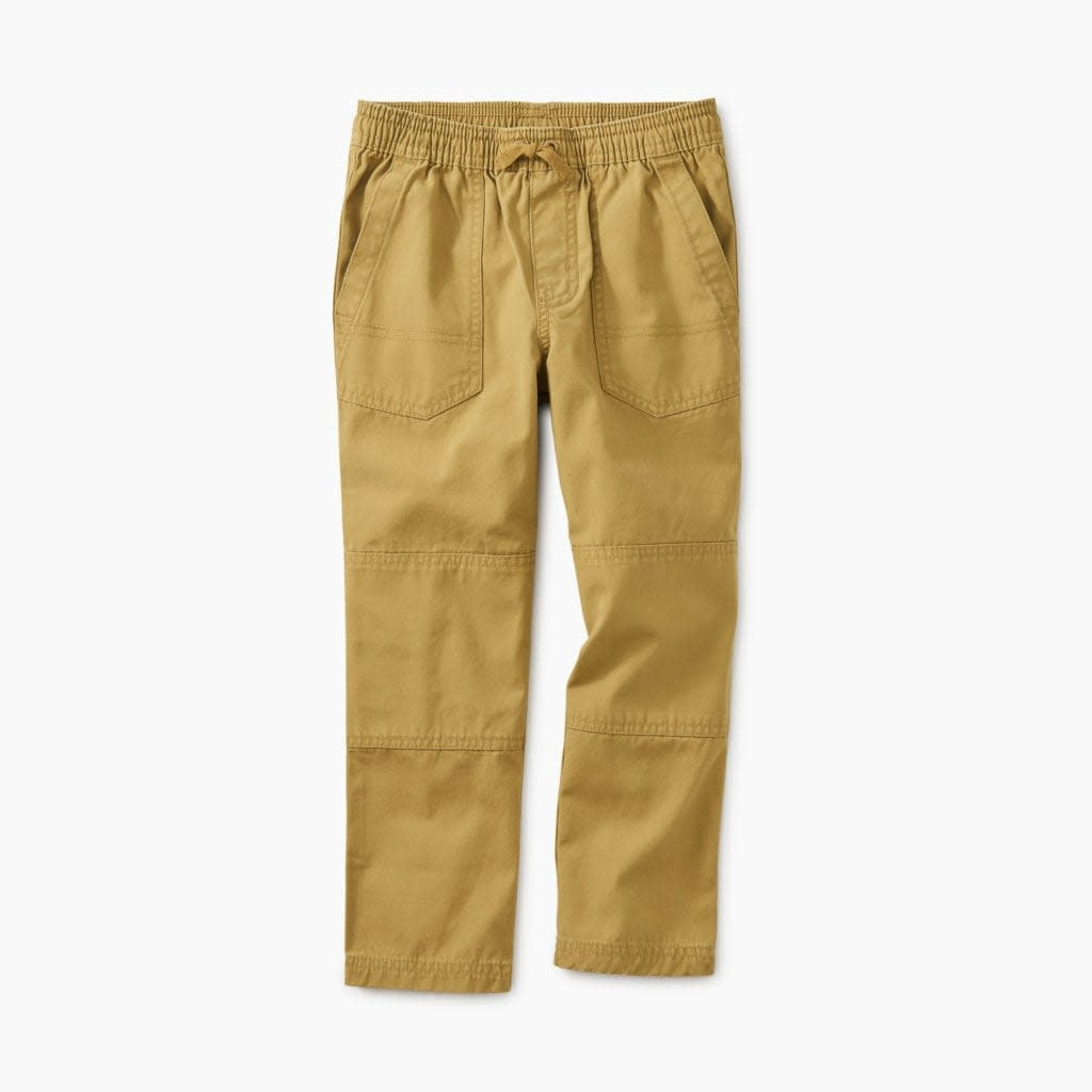 Tea Collection Baby Boy Canvas Explorer Pants - Fennel