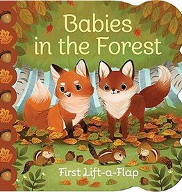 House of Marbles Babies in the Forest Chunky Lift-a-flap