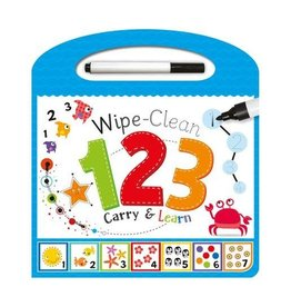 House of Marbles Wipe Clean Carry & Learn 123