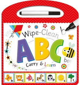 House of Marbles Wipe Clean Carry & Learn ABC
