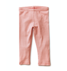 Tea Collection Striped Capri Leggings - Desert Rose