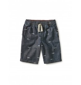 Tea Collection Chambray Discovery Short - Sharks