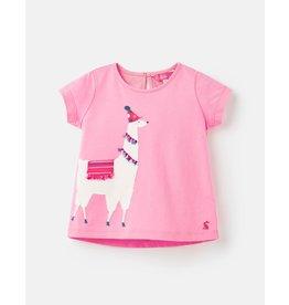 Joules Maggie - Pink Llama Tee