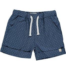 Me + Henry Blue Arrow Chambray Shorts