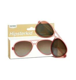 FCTRY Hipsterkid Golds Aviator Kids Sunglasses, Rose (3-6y)