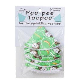 Beba Bean Pee-Pee Teepee Li'l Monkey Green