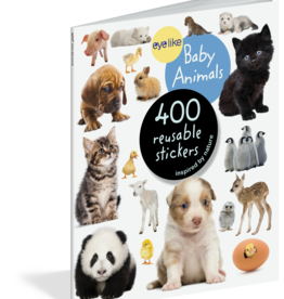 Workman Publishing Eyelike Stickers: Baby Animals