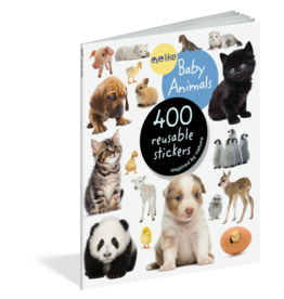 Workman Publishing Eyelike Stickers: Baby Animals