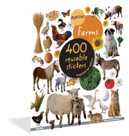 Workman Publishing Eyelike Stickers: On The Farm