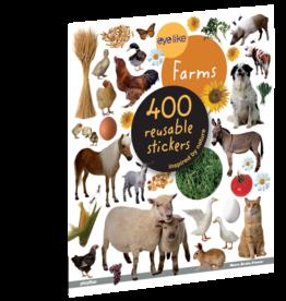Workman Publishing Eyelike Stickers: On The Farm
