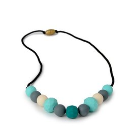 Chewbeads Chelsea Necklace, Multi-Color Turquoise